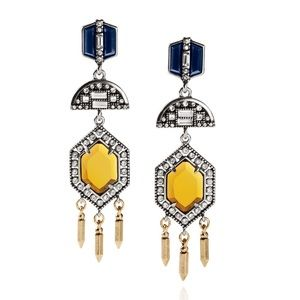 NEW Chloe Isabel Grand Cabaret Statement Earrings